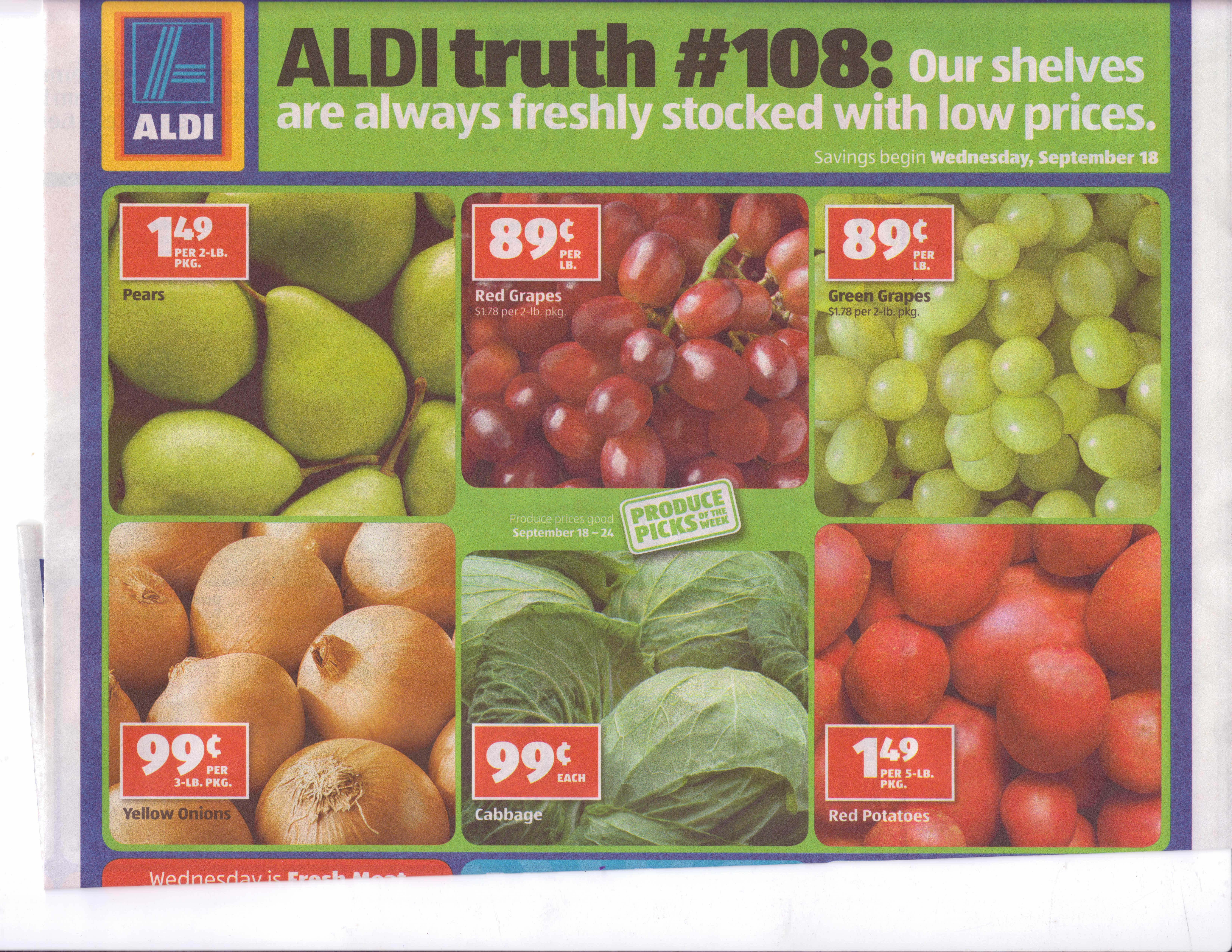 A Tale Of 3 Ads Walmart Kroger Aldi Kyhealthykids