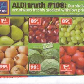 A Tale of 3 Ads: WalMart, Kroger,Aldi