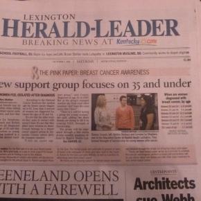 Pink Newspaper OmitsPrevention