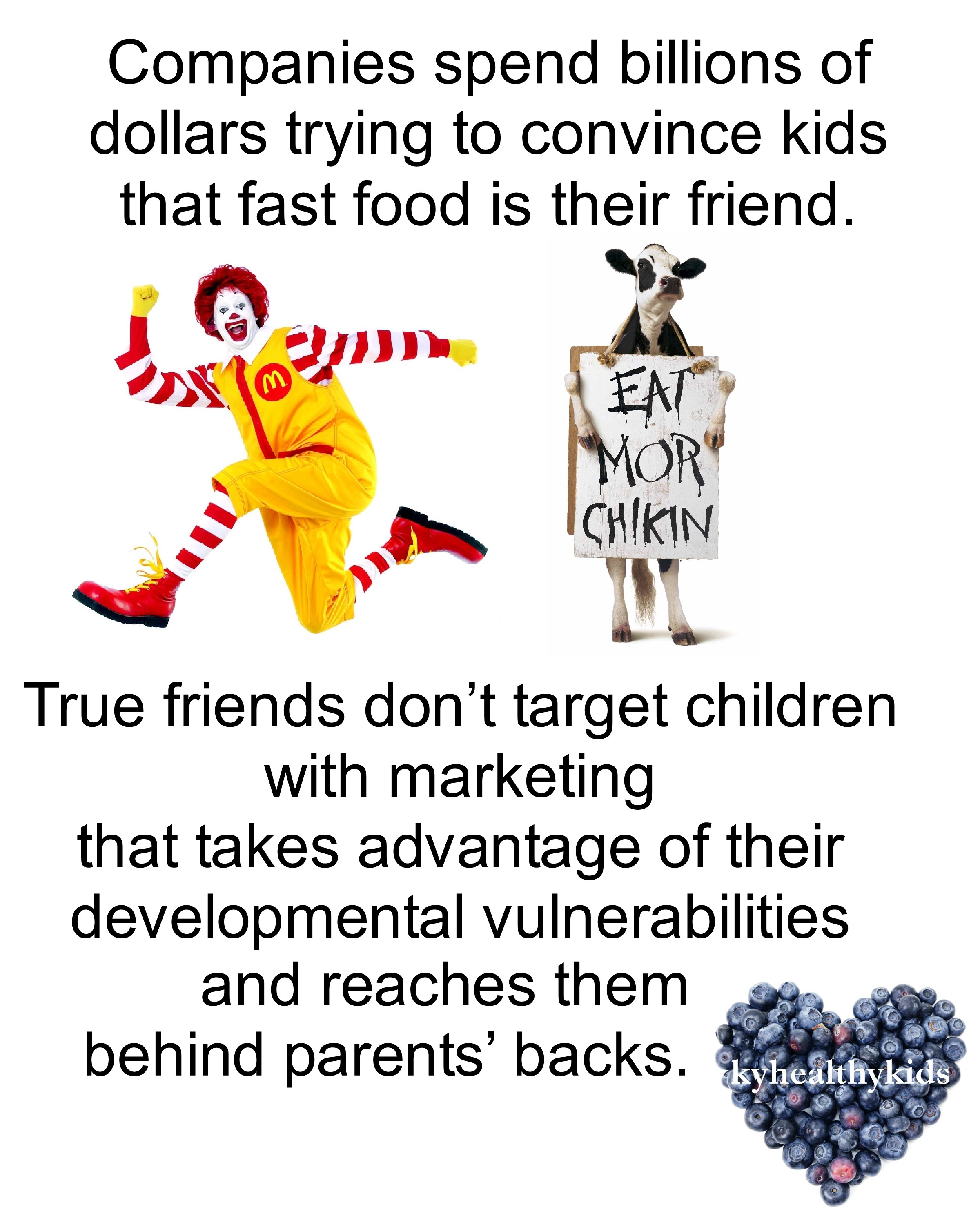 Fast Food And Children And Mcdonald S Marketing